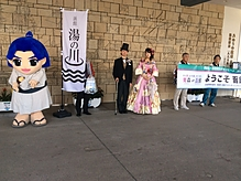 北海道新幹線開業イベント2015年 2016年 2017年と3年連続で衣装協力させて頂きました。